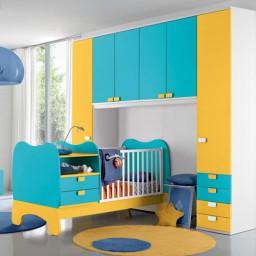 βρεφικό δωμάτιο baby101 colombini