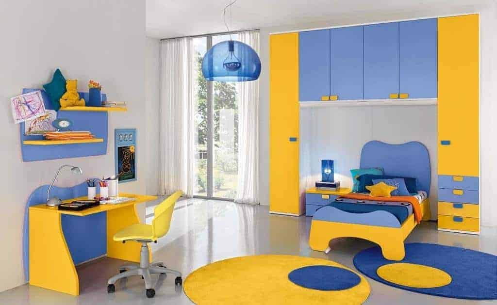 βρεφικό σε παιδικό δωμάτιο bayby101 colombini