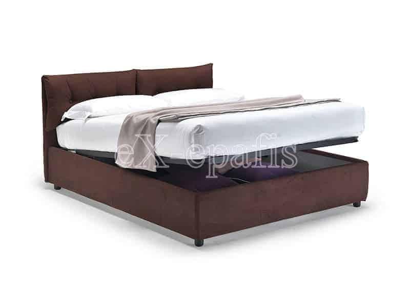 κρεβάτι διπλό με αποθηκευτικό χώρο Air noctis (2)