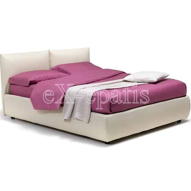 Κρεβάτι Bridge Eco Italy Επενδυμένο & Μπαούλο