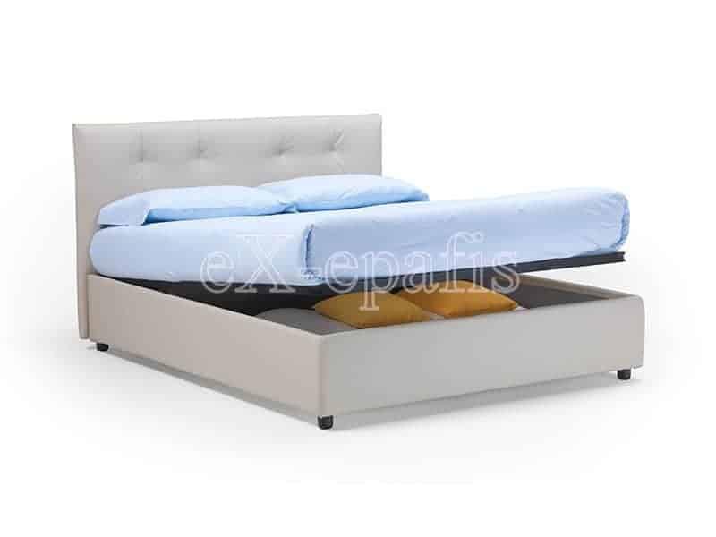 κρεβάτι διπλό με αποθηκευτικό χώρο capri noctis (2)