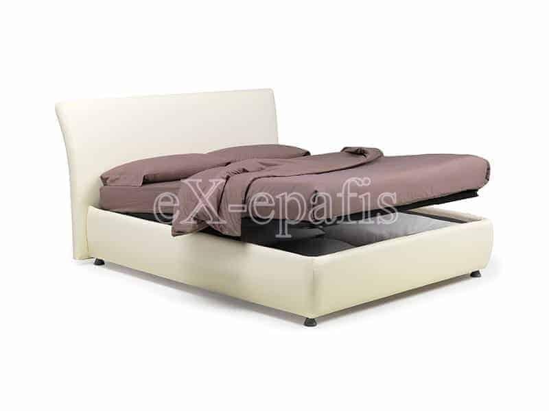 κρεβάτι διπλό με αποθηκευτικό χώρο dallas noctis (2)
