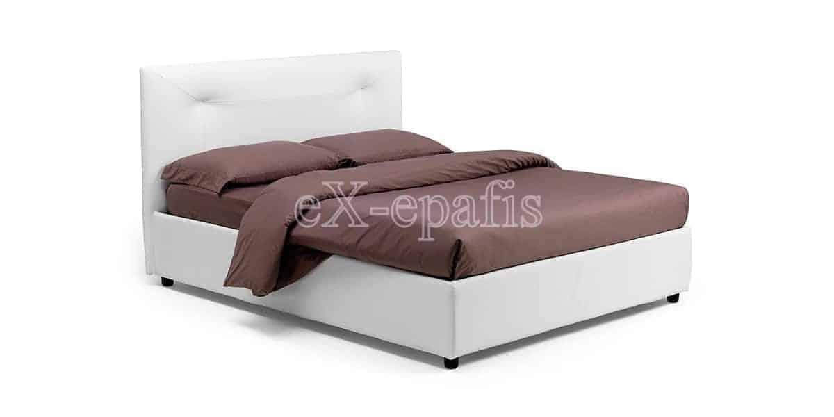 κρεβάτι διπλό με αποθηκευτικό χώρο ginevra noctis (1)