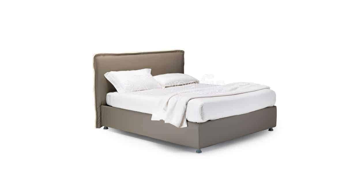 κρεβάτι διπλό με αποθηκευτικό χώρο giove noctis (1)