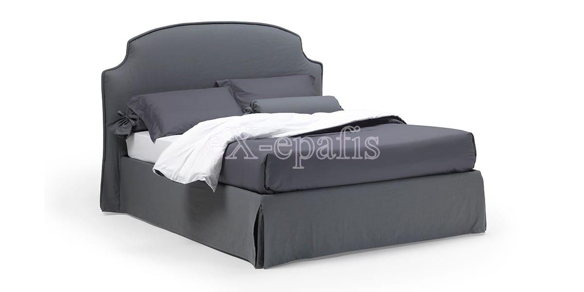 κρεβάτι διπλό με αποθηκευτικό χώρο iris noctis (1)