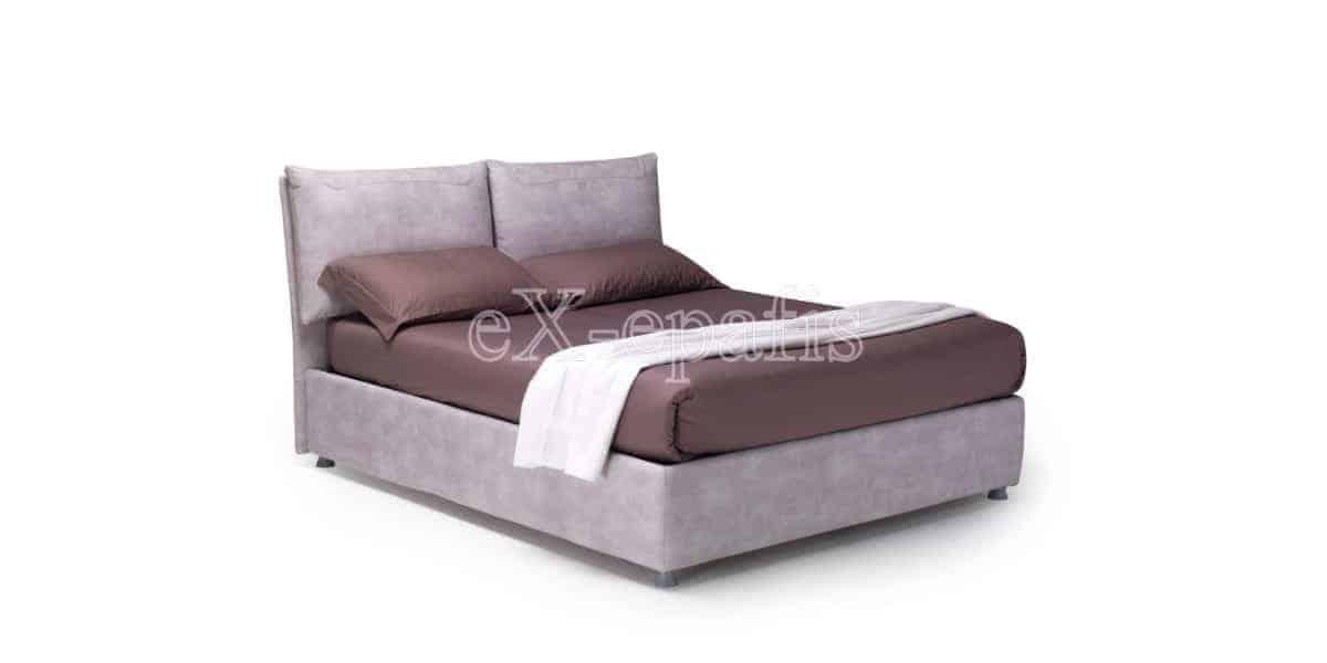 κρεβάτι διπλό με αποθηκευτικό χώρο luna noctis (1)