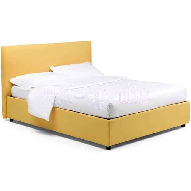 Κρεβάτι Manuel Eco Italy Επενδυμένο & Μπαούλο