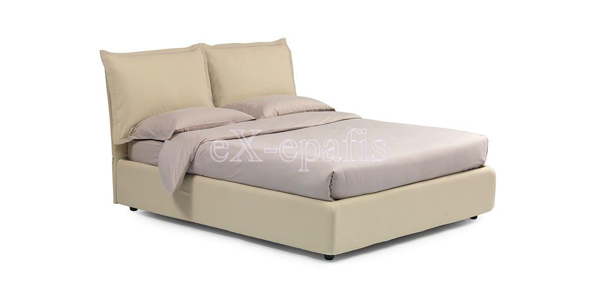 κρεβάτι διπλό με αποθηκευτικό χώρο melany noctis (1)