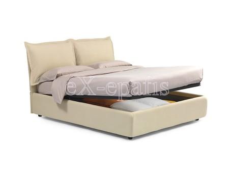 κρεβάτι διπλό με αποθηκευτικό χώρο melany noctis (2)
