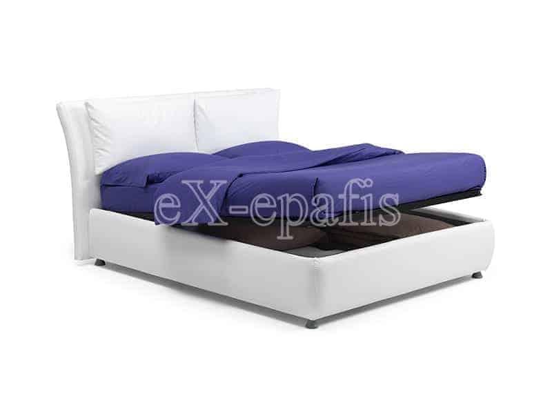 κρεβάτι διπλό με αποθηκευτικό χώρο memphis noctis (2)