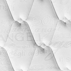 στρώματα Sensitive ύφασμα Knitted exclusive καπιτονέ με dacron
