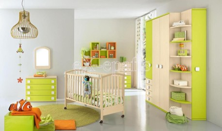baby105 colombini βρεφικό δωμάτιο σετ
