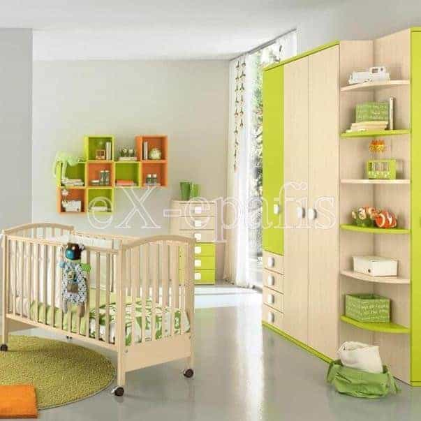 Βρεφικό Δωμάτιο Baby105 Colombini