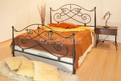 μεταλλικό κρεβάτι αφροδίτη 131