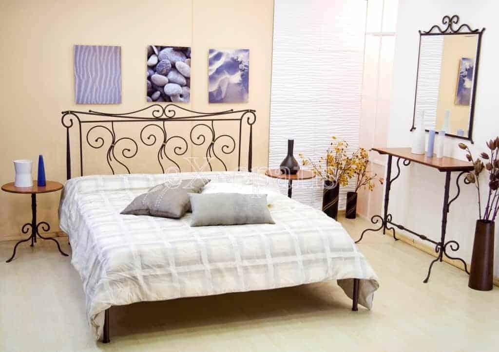 μεταλλικό κρεβάτι θάλεια χωρίς ποδαρικό 113