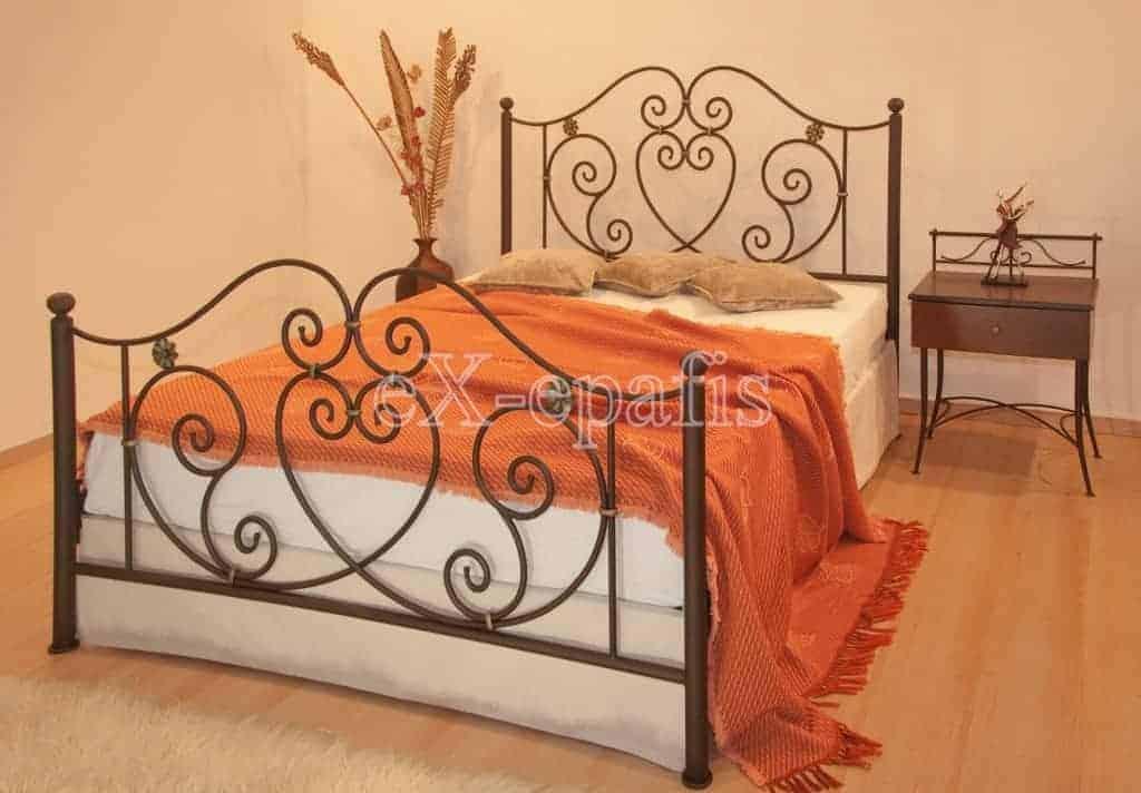 μεταλλικό κρεβάτι μελέτη 126