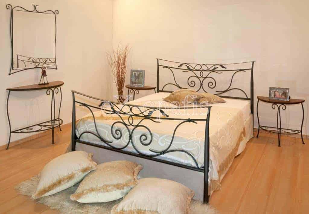 μεταλλικό κρεβάτι ναυσικά 133