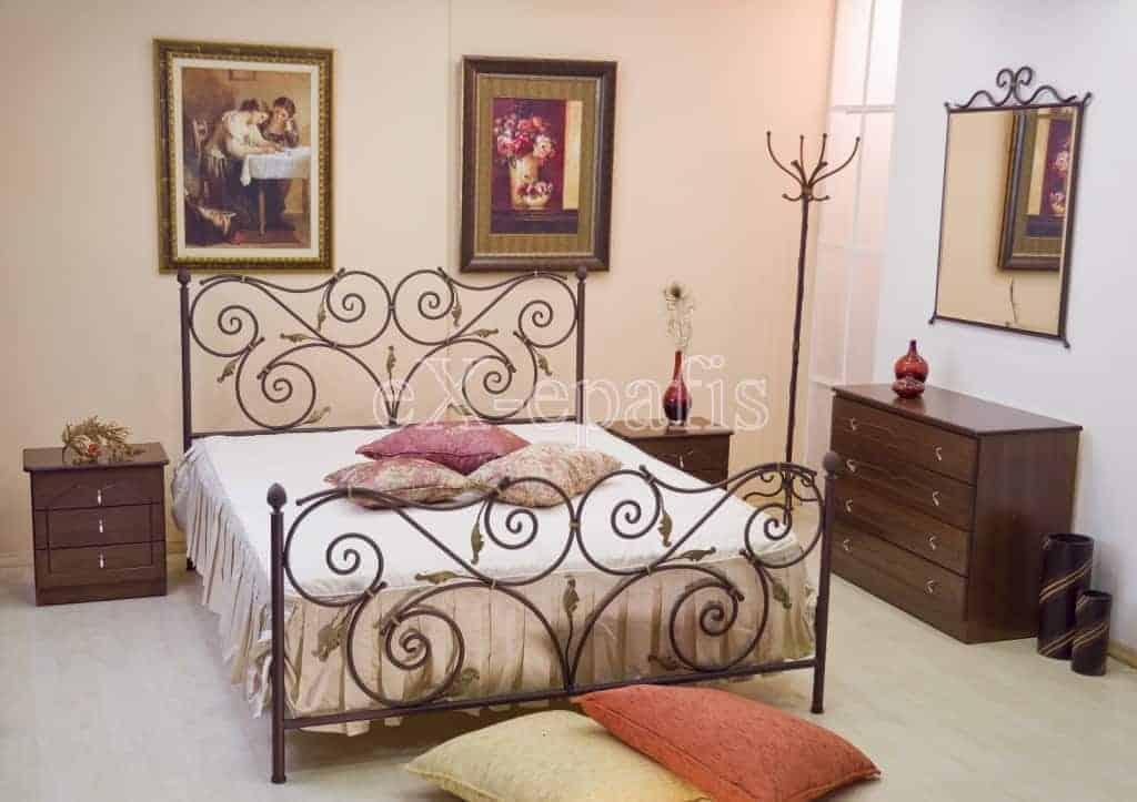μεταλλικό κρεβάτι ουρανία 116
