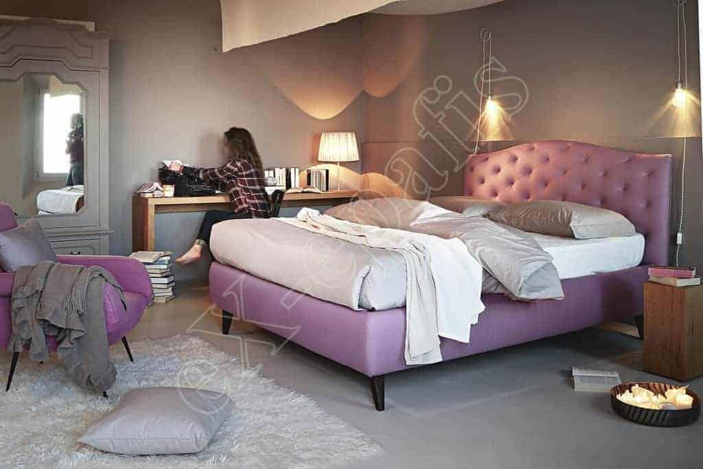 Κρεβάτι Lyle Capitonne Noctis