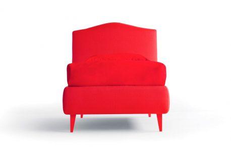 Κρεβάτι Lyle Noctis με Πόδια στο Χρώμα του Υφάσματος