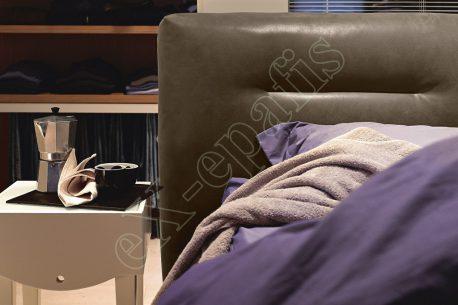 Κρεβάτι Phill Noctis - Ραφή Σχέδιο στο Κεφαλάρι