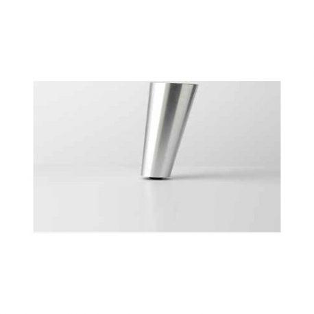 Λοξό Αλουμινίου Πόδι Noctis Χρώμιο 11cm