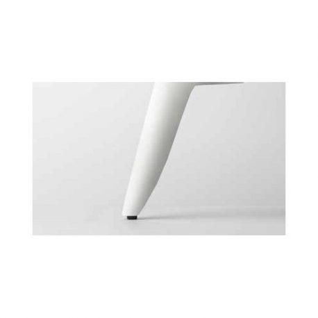 Λοξό Μεταλλικό Πόδι Noctis Λευκό 15cm
