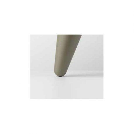 Πολυπροπυλένιο Λοξό Πόδι για Κρεβάτι Noctis - Dove Γκρι 11cm