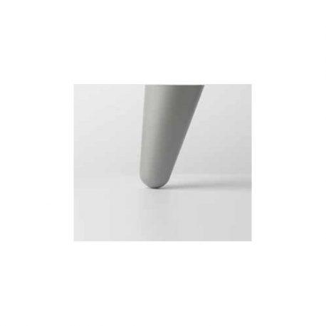 Πολυπροπυλένιο Λοξό Πόδι για Κρεβάτι Noctis - Γκρι 11cm