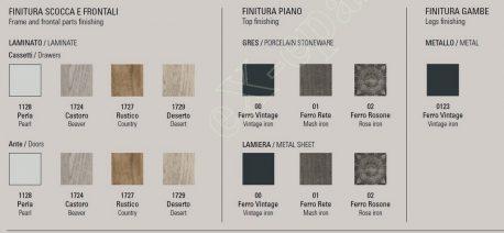Μπουφές Electa Quadra Target Point - Χρώματα