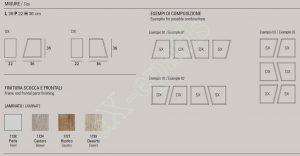 Ράφια Corner Target Point - Χρώματα & Διαστάσεις