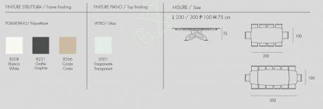 Τραπέζι Eclipse Target Point - Χρώματα & Διαστάσεις