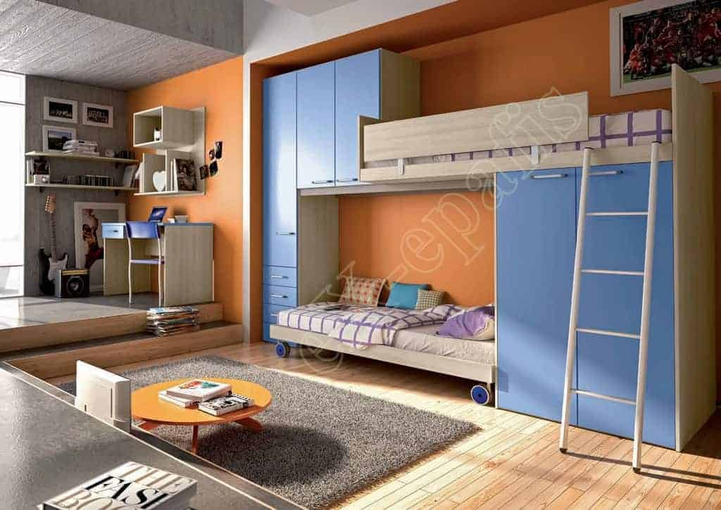 Kids Bedroom Target P107 Colombini