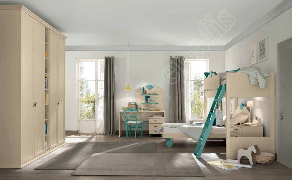 Kids Bedroom Colombini Arcadia AC109