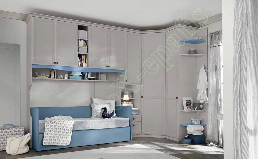 Kids Bedroom Colombini Arcadia AC124