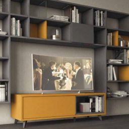 Wall Unit Living Room Colombini Golf L102