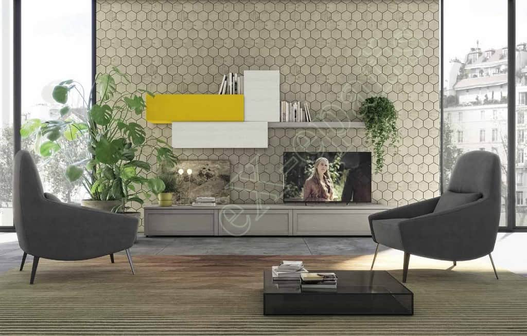 Wall Unit Living Room Colombini Golf L103