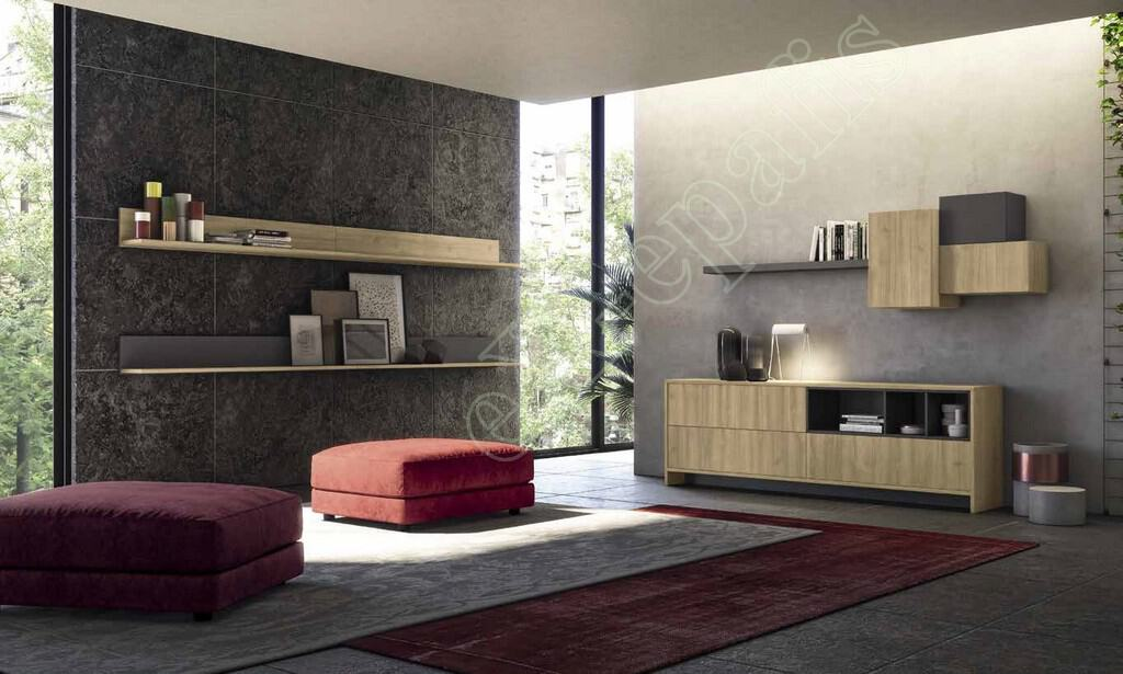 Wall Unit Living Room Colombini Golf L104