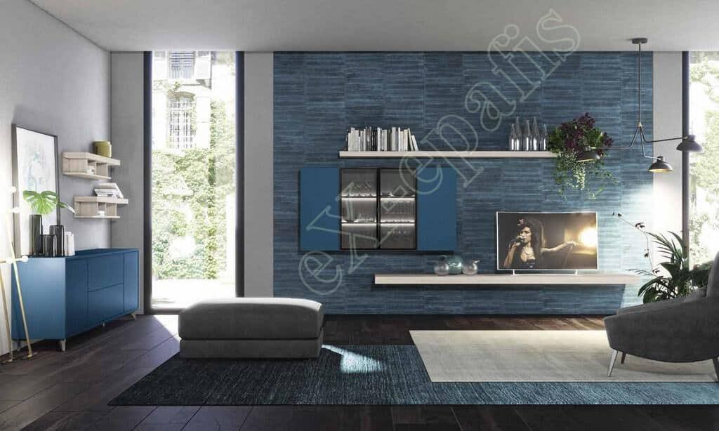 Wall Unit Living Room Colombini Golf L105