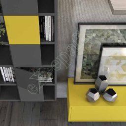 Wall Unit Living Room Colombini Golf L106