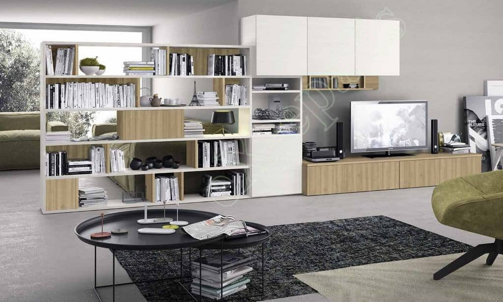 Wall Unit Living Room Colombini Golf L112
