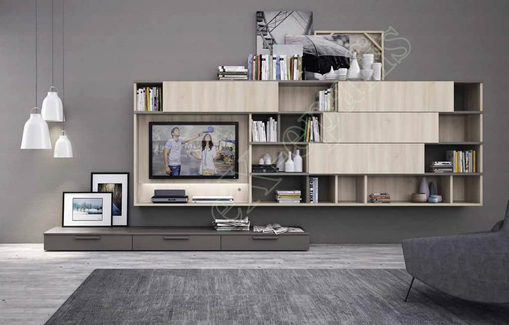 Wall Unit Living Room Colombini Golf L118