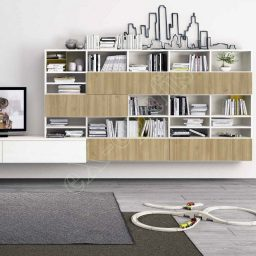 Wall Unit Living Room Colombini Golf L121