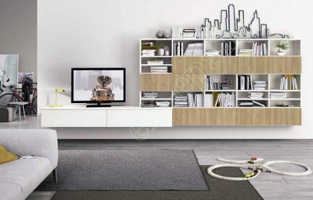 Wall Unit Living Room Colombini Golf L121