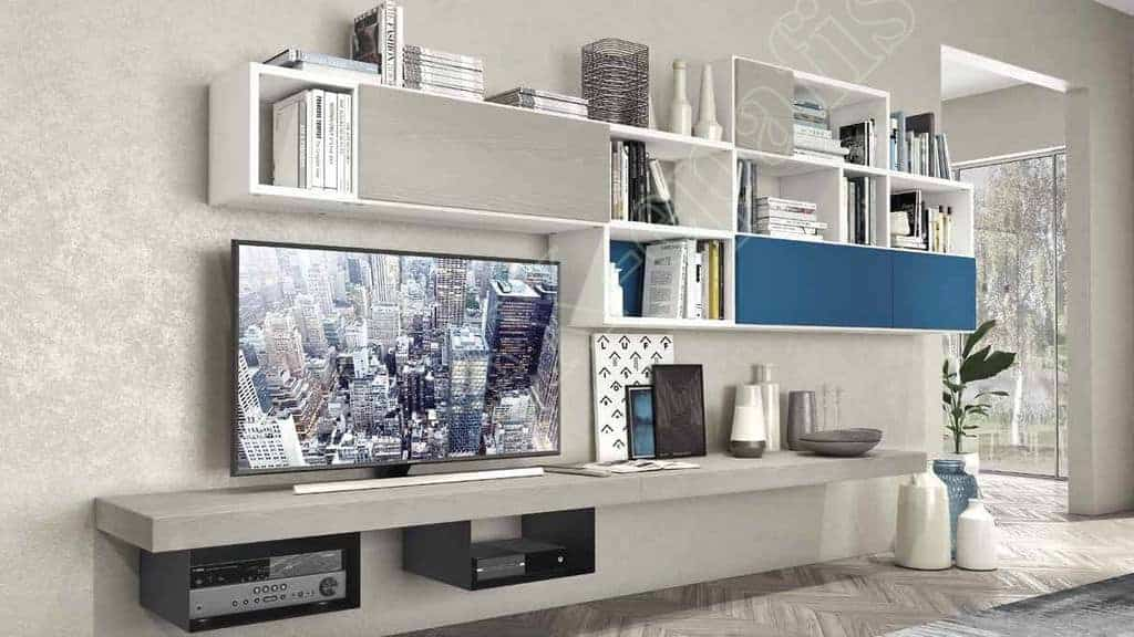 Wall Unit Living Room Colombini Golf L124