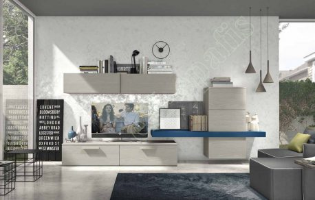 Wall Unit Living Room Colombini Golf L125