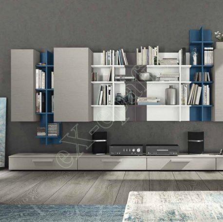 Wall Unit Living Room Colombini Golf L126