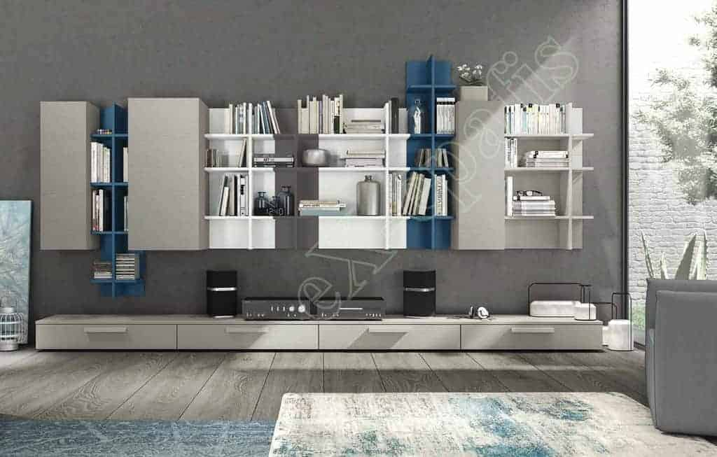 Wall Unit Living Room Colombini Golf L126