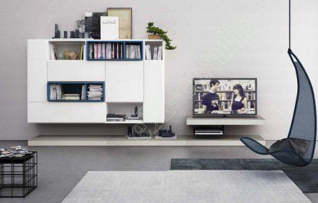 Wall Unit Living Room Colombini Golf L127
