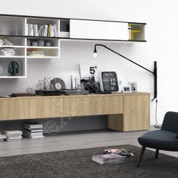 Wall Unit Living Room Colombini Golf L130